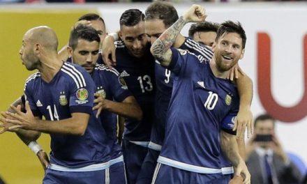 Argentina camina hacia la final