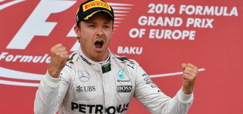 Rosberg volvió a la victoria