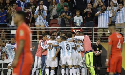 Sin Messi y con mucho fútbol