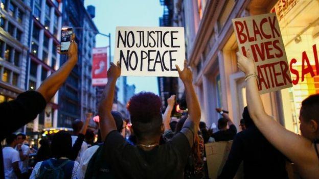 Estados Unidos marcha contra el racismo