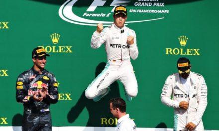 Rosberg volvió al triunfo