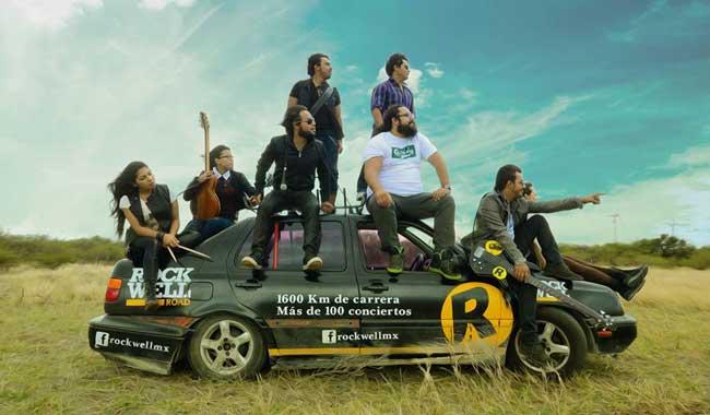 Rockwell Road, desde México el nuevo pop rock