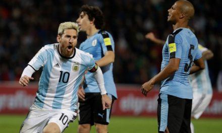 Gol de Messi y debut a lo Bauza