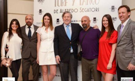 Segatori homenajea al tango, Gardel y el hipódromo