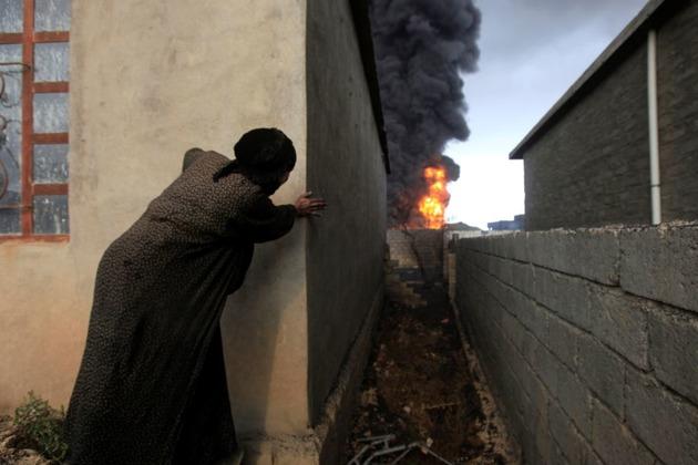 Ingreso a Mosul, conflicto en puerta