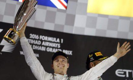 Nico Rosberg, nuevo rey de F1
