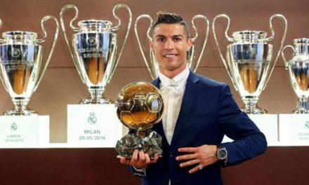 Cristiano Ronaldo es el mejor del año