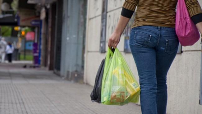 Chau bolsas plásticas en la Ciudad