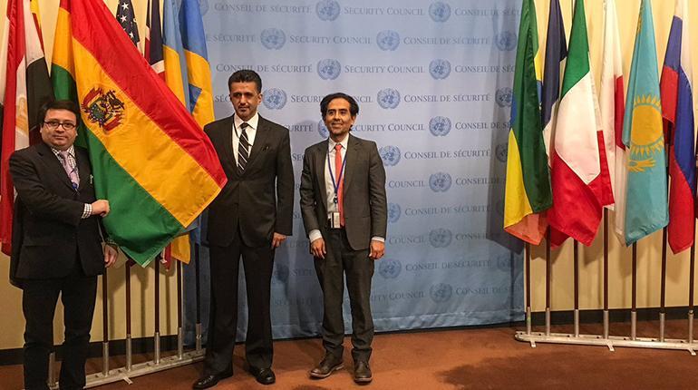 Bolivia en el Consejo de Seguridad de ONU