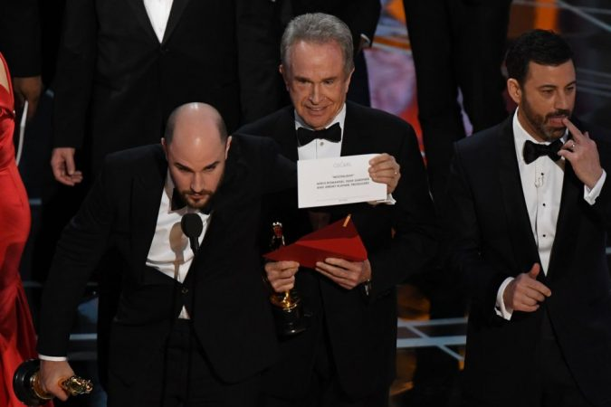 Oscars, papelón y vergüenza
