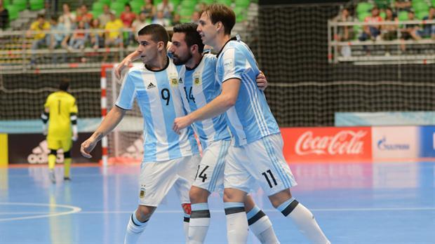 Argentina recibe el futsal de América