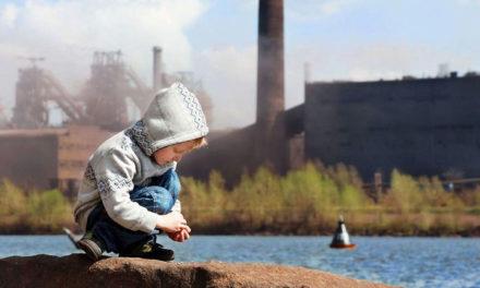 Niños en peligro por contaminación