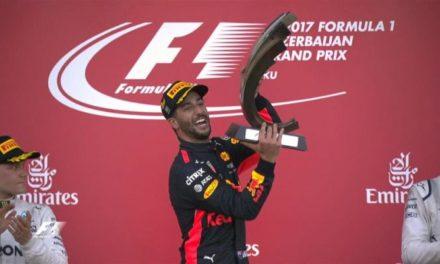 Ricciardo ganó una carrera loca