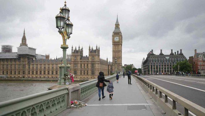 Londres sacudida