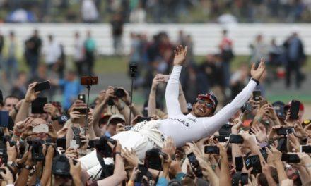Hamilton gana en casa y apura a Vettel