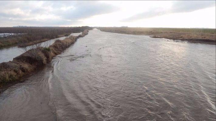 Fuerte reclamo por obras hídricas