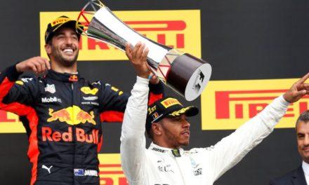 Hamilton descuenta a puro triunfo