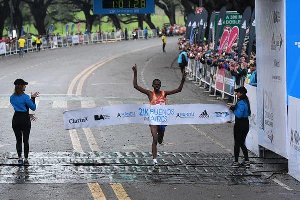Media Maratón: los protagonistas