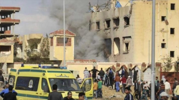 Atentado contra mezquita en Egipto