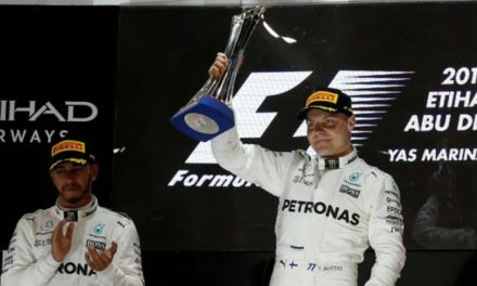 Bottas ganó el último Gran Premio