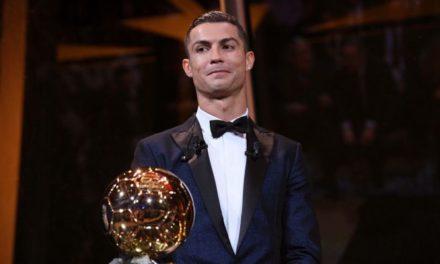 Cristiano Ronaldo, el mejor del año