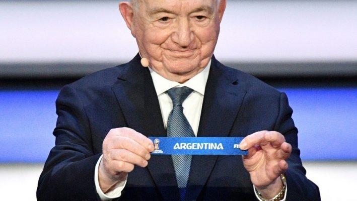 El fixture de la Copa Mundial