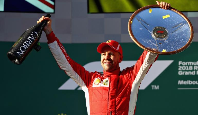 Ferrari pegó en el momento justo
