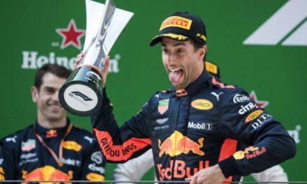 Ricciardo sorprendió en China