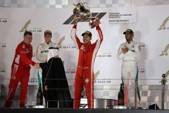 Vettel y el arte de la defensa