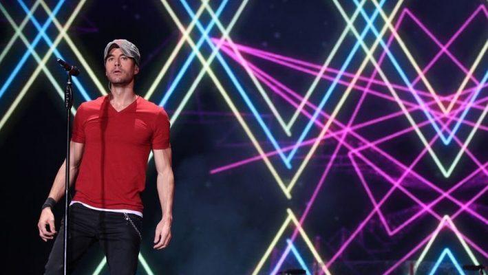 El show para el olvido de Enrique Iglesias
