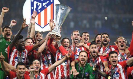 Atlético Madrid campeón de Europa