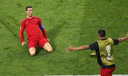 CR7 contra España
