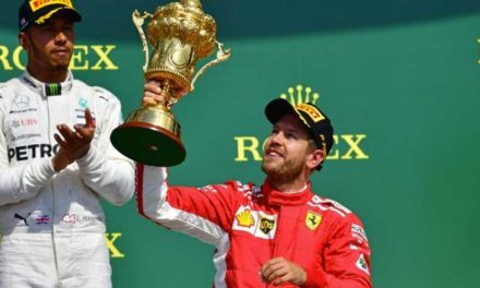 Vettel gana en casa de Hamilton