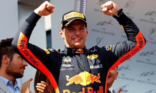 Verstappen corrió para Vettel