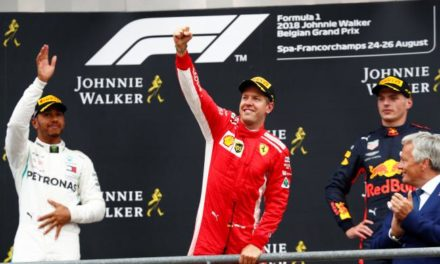 Vettel volvió con todo