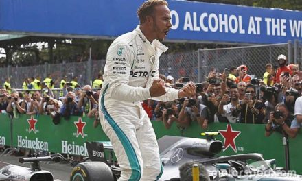 Hamilton volvió a la normalidad