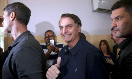 Bolsonaro a un paso de ser presidente