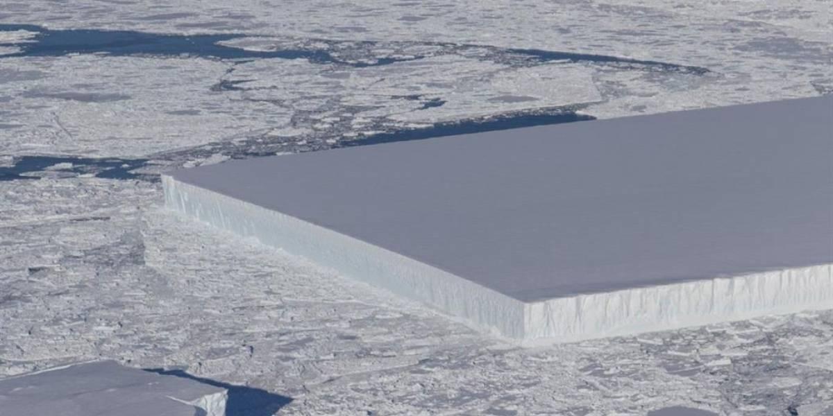 El misterio del iceberg rectangular