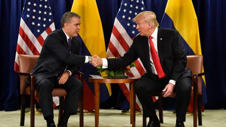 La relación entre Estados Unidos y Colombia