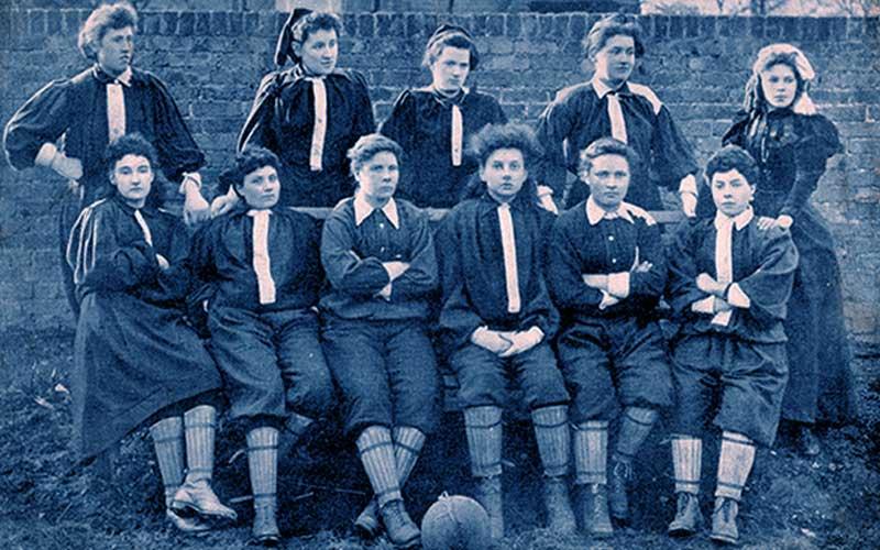 British Ladies: primer equipo de fútbol femenino