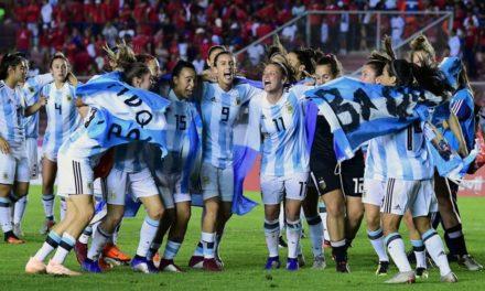 Las chicas van al Mundial