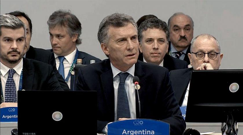 La apertura de Macri