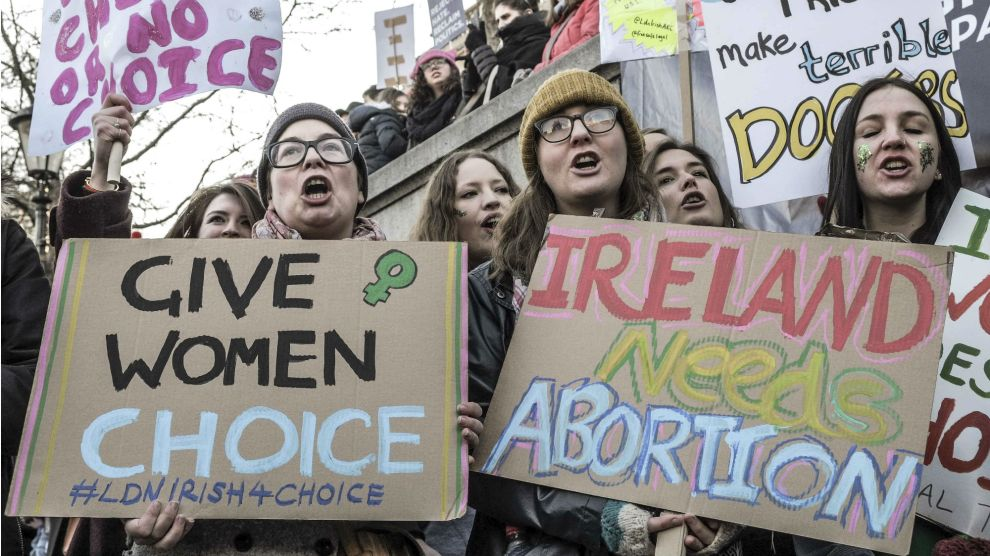 Se aprobó el aborto en Irlanda