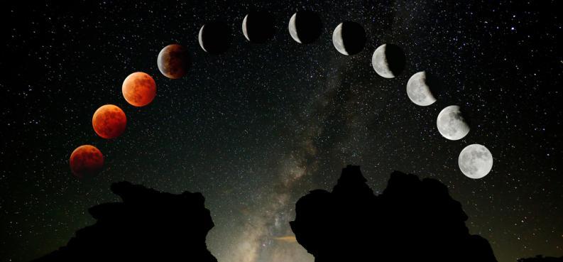 Eclipse lunar: vivir lo que creemos y creamos