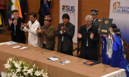 Salud pública y gratuita para Bolivia