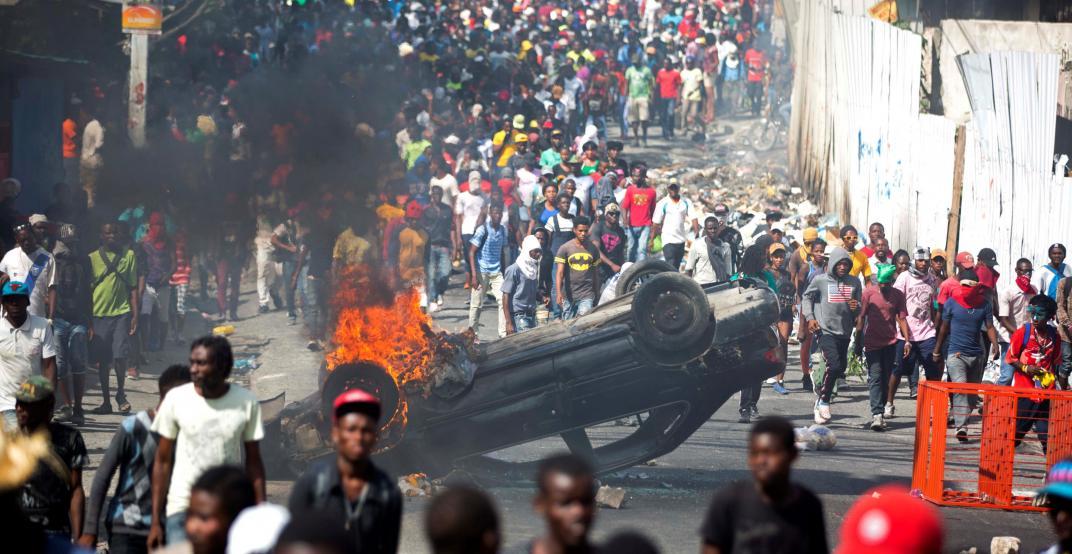 La profunda crisis de Haití