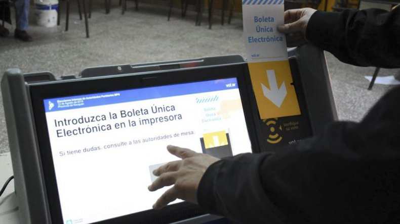 Maquinaria del voto