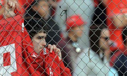 Roja al abuso en el fútbol
