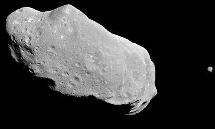 El asteroide que se acerca