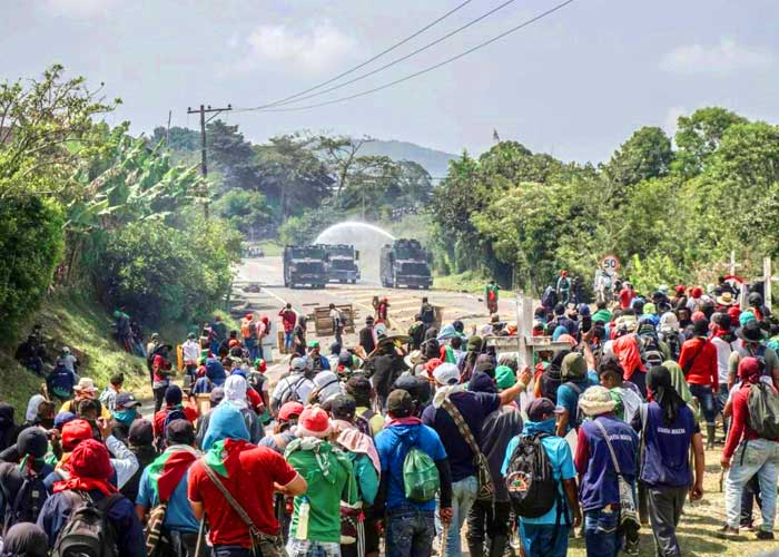 En defensa de la minga en Colombia